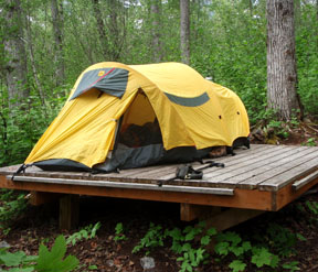 Chilkoot Campsite