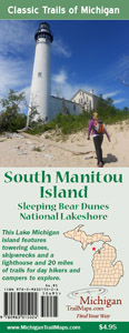South Manitou Island Map