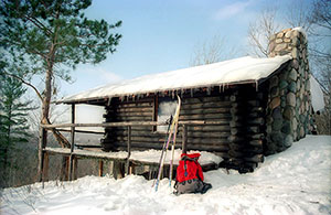 Honeymoon Cabin was also used in the winter .
